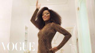Keke Palmer Gets Ready for the Met Gala | Vogue
