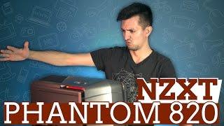 Корпус NZXT Phantom 820: большой и красивый