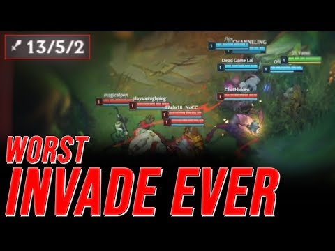 LL Stylish - WORST INVADE EVER - UNRANKED TO CHALLENGER