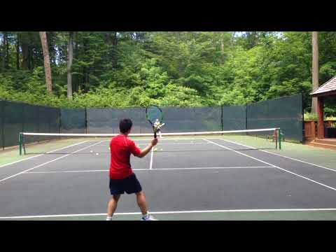 Cooperative Rallying - Casual Tennis 115 [HD]