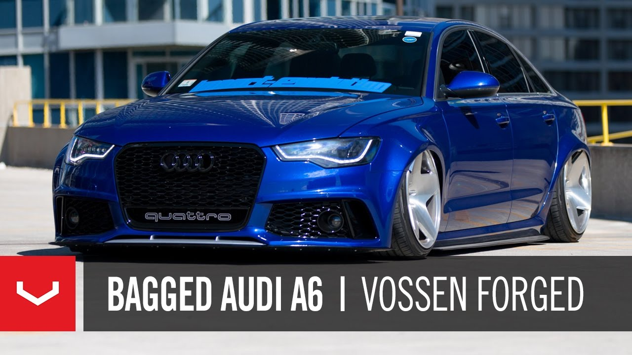 audi a6 widebody import evolution vossen forged vps 318 youtube. Black Bedroom Furniture Sets. Home Design Ideas
