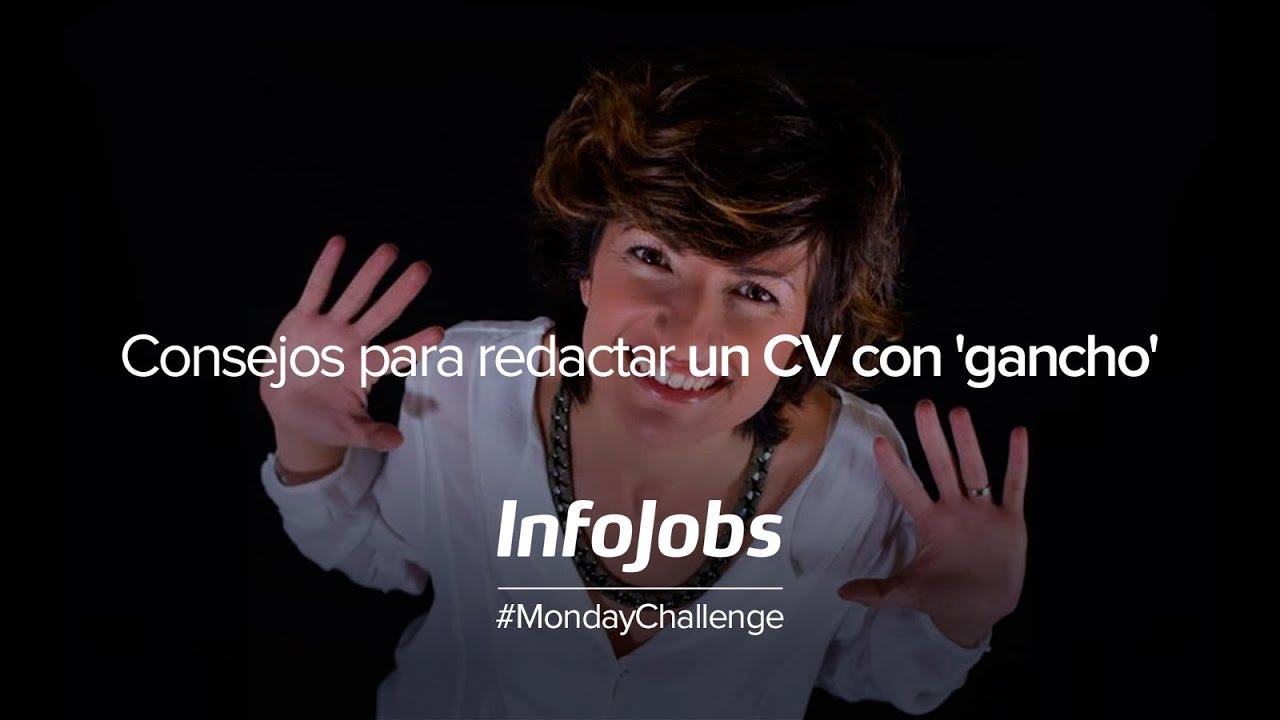 Webinar InfoJobs | Consejos para redactar un CV con \'gancho\' - YouTube