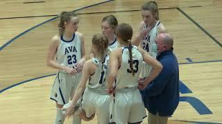 Girls Basketball | Ava vs Sparta | 12-14-20