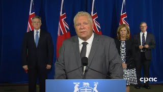 Premier Ford provides COVID-19 update as Ontario confirms arrival of second wave – Sept. 28, 2020