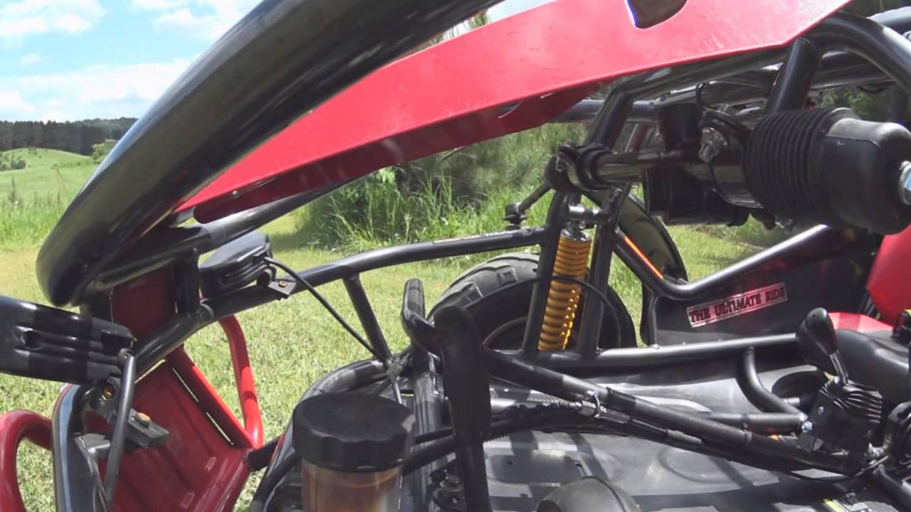 American Sportworks Carbide 150cc Go Kart In Depth on