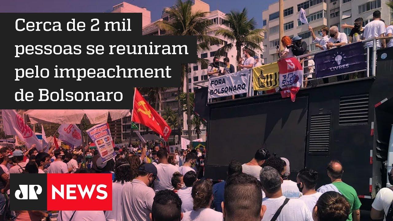 Download Rio tem ato esvaziado contra Bolsonaro e defesa da 'terceira via'