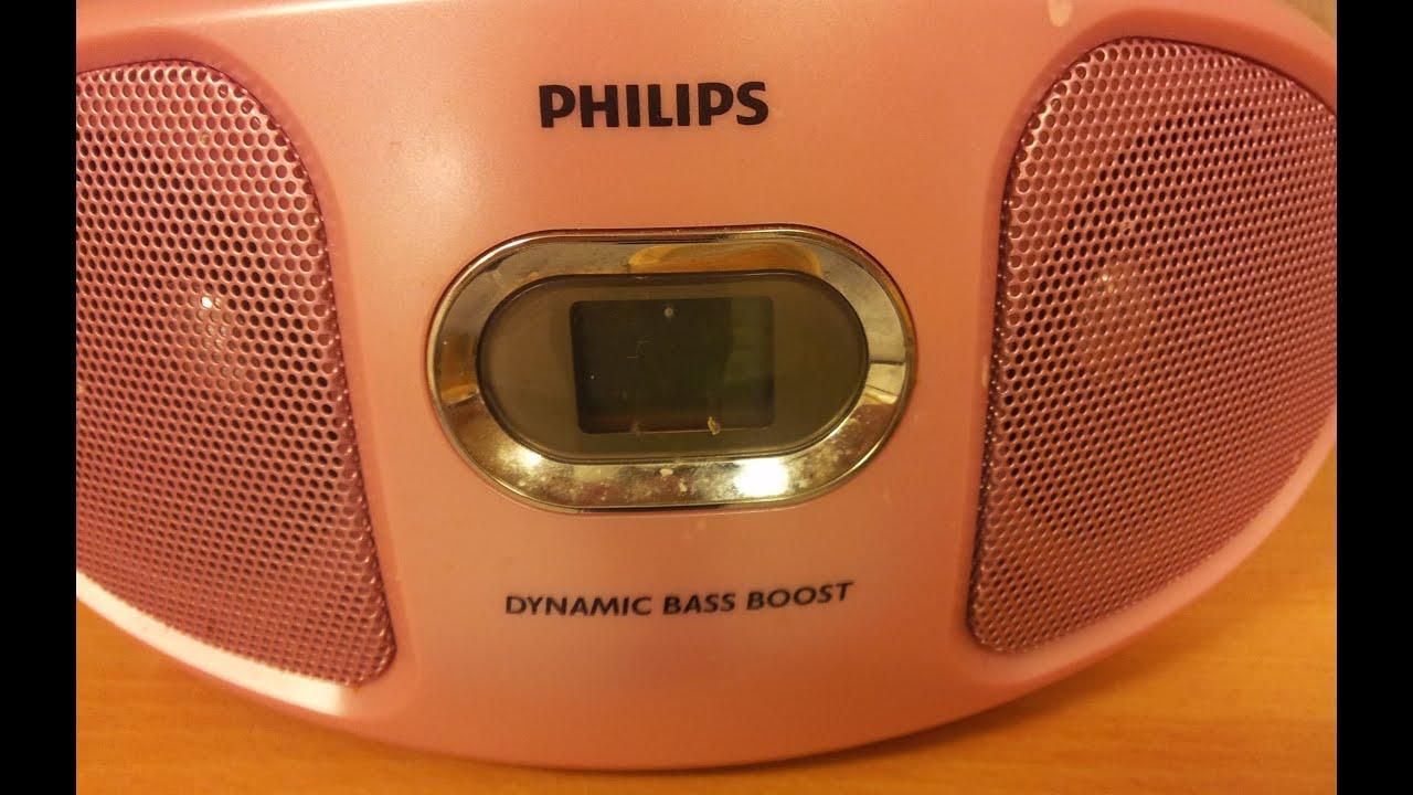Nieuw Philips CD soundmachine AZ 102C - YouTube BX-49