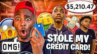 JAY & JAKARI STOLE MY CREDIT CARD & ORDERED JORDANS!