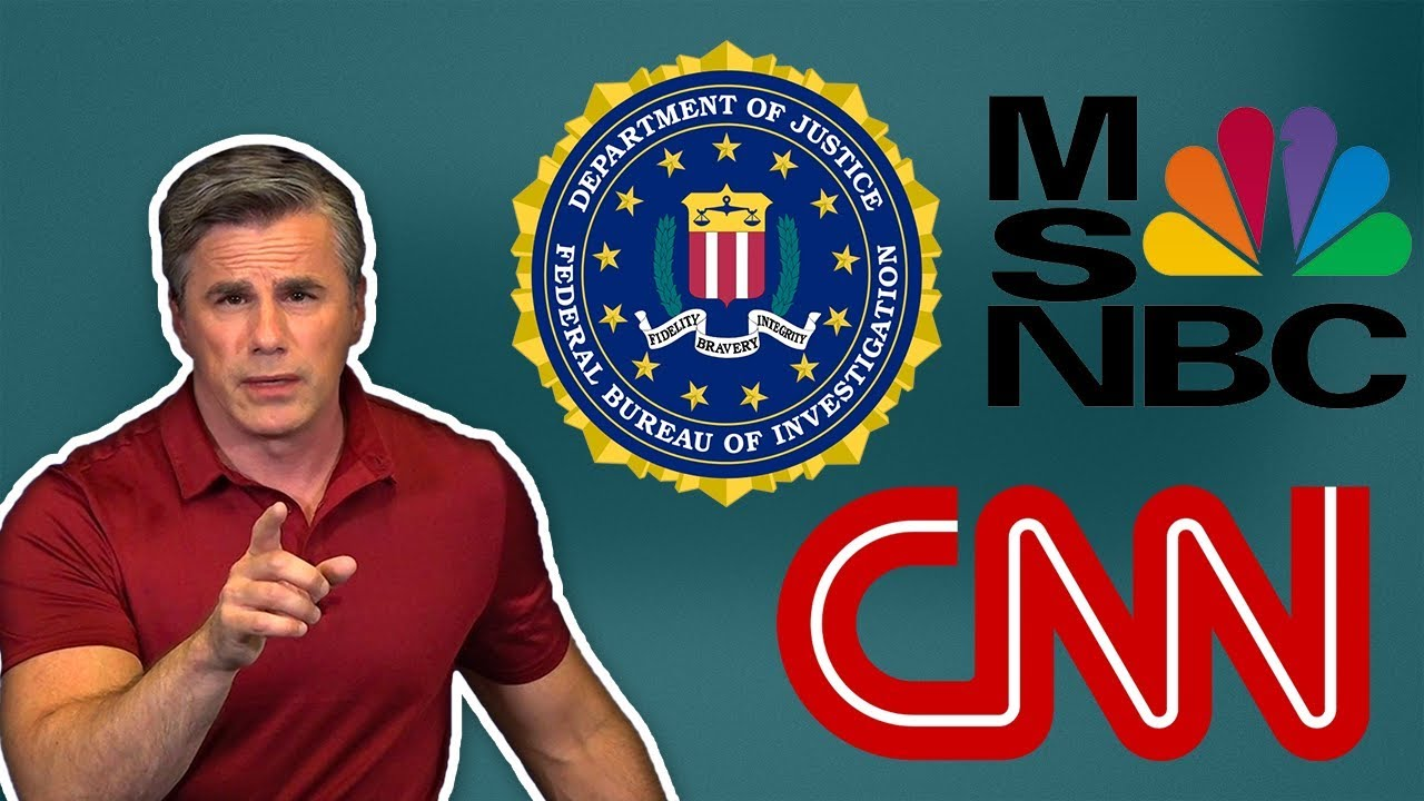 "Judicial Watch Tom Fitton: The Mainstream Media is Working ""Hand-in-Glove"" with the FBI"