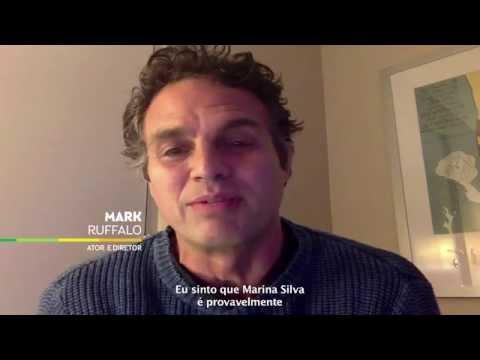 Mark Ruffalo apoia Marina