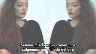 Lorde - Swingin Party | Subtitulos en Español