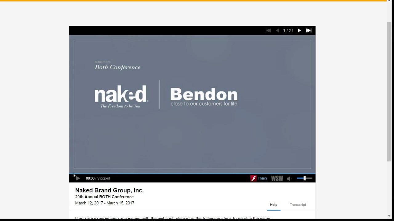 Naked Brand Group Stock Options Carole Hochman Bendon, Board of Directors, compliance, conference