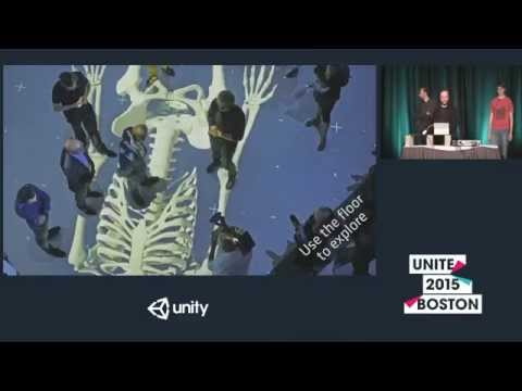 Unite 2015 - Virtual Reality for Large Multi-User Environments