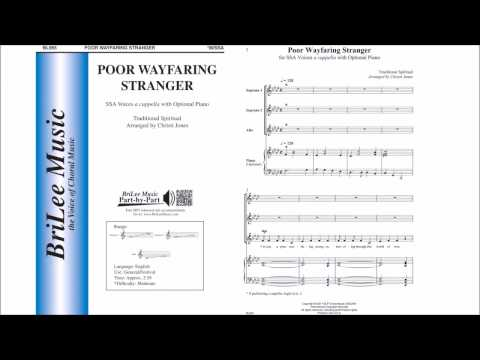 Poor Wayfaring Stranger (BL955) Arr by Christi Jones