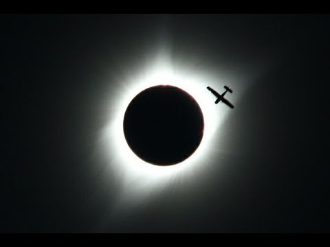 Total Solar Eclipse in Wyoming USA - August 21,  2017 in real time