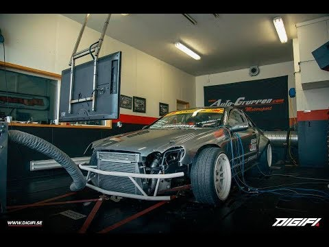 Mercedes CLK M104 Turbo Dyno - Autogruppen 2018