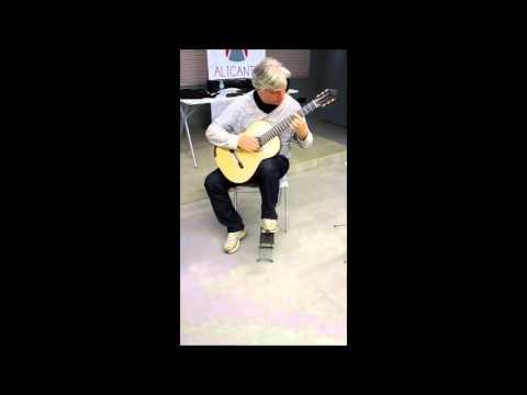 Fabio Zanon plays a Patrick Mailloux Guitar