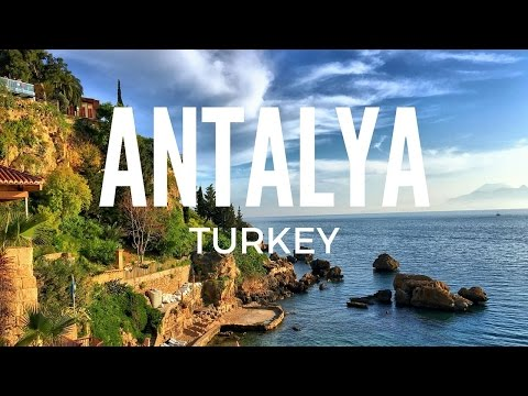 Antalya, Turkey. A walk around the old town.