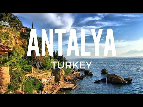 Antalya, Turkey. A walk around the old town.