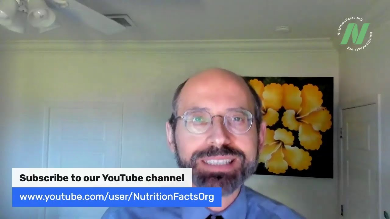 Live Q&A with Dr. Greger of NutritionFacts.org