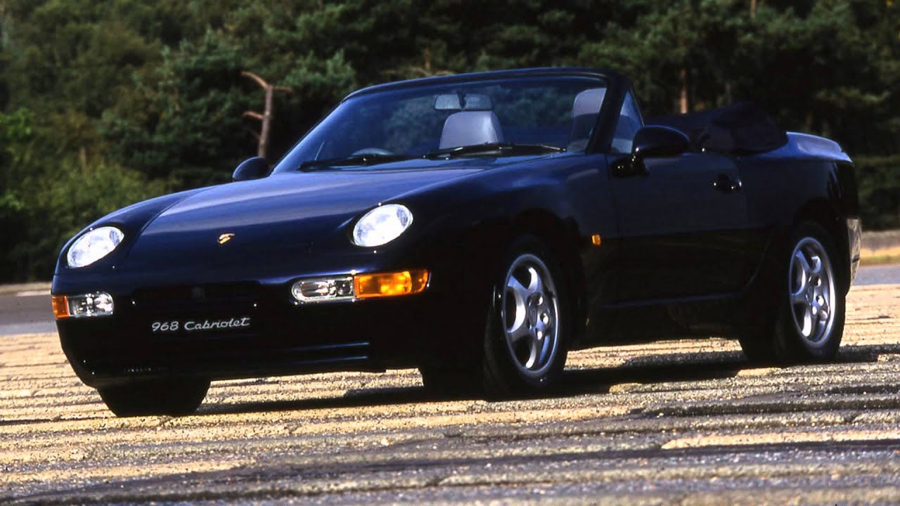 porsche 968 cabriolet (1994) - youtube