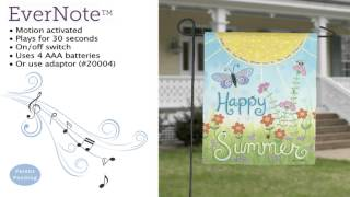 Evernote™ Garden Flag - 14EN3419 Happy Summer Thumbnail