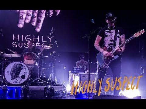 Highly Suspect Live - Royale - Boston - 8.12.17