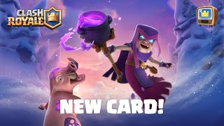 Clash Royale: NEW LEGENDARY CARD REVEAL 😮 TV Royale Update