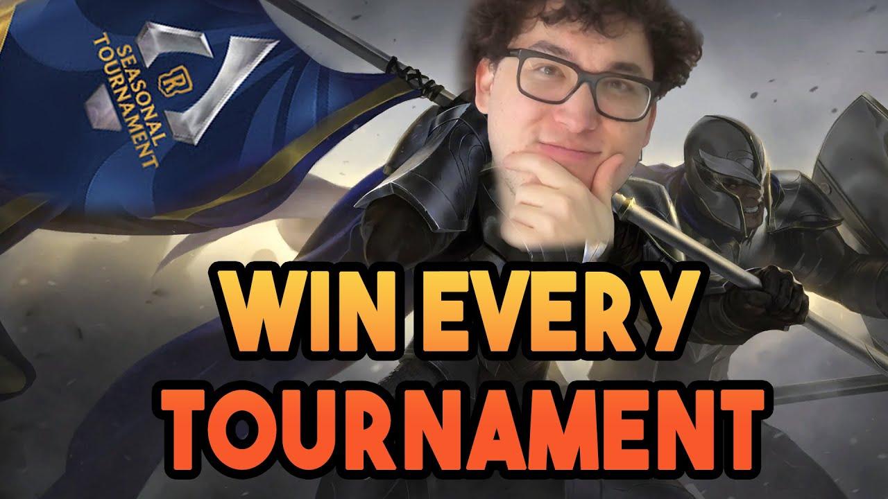 How to Crush Runeterra Tournaments (Seasonal Tournament Guide)   Legends of Runeterra (LoR)