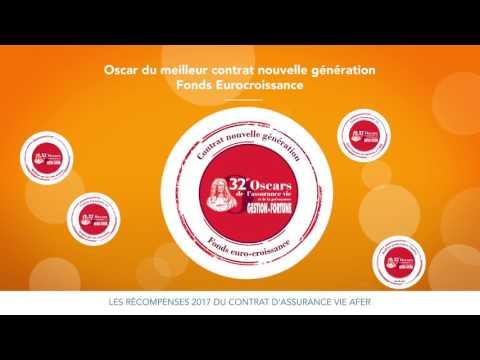 Les récompenses 2017 du contrat multisupport d'assurance vie AFER