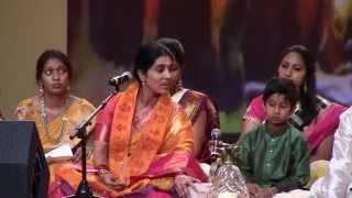 Kondaveeti Jyothirmayi Annamayya song at NATS 4th Convention in Los Angeles July 3rd 2015