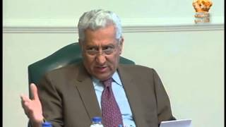 رئيس الوزراء يترأس اجتماع شركة المدن الصناعية الاردنية