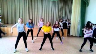 Танец 10 А класс 2016 год