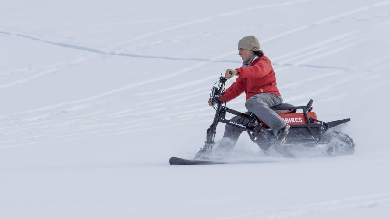 MoonBikes x Saint-Gervais Mont-Blanc - 100% electric snowbikes