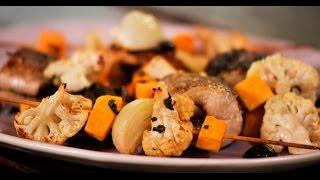 Стейки из щуки с запечёнными овощами | Рыба и гриль