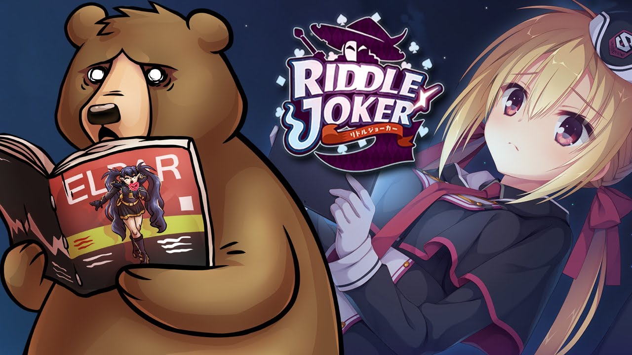 MY SISTER DOES WHAT!? - Riddle Joker Part 1