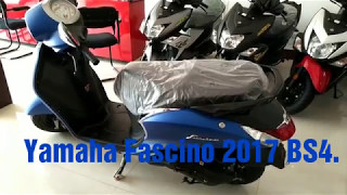 Yamaha Fascino 2017 Bs4 . What's new? Attractive But.. Ride safe click link