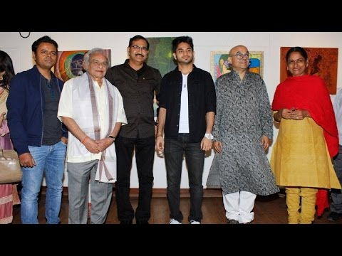 Inauguration of an Unique Art Exhibition Paintings by the Artist Sydney Lobo With Many Celebs