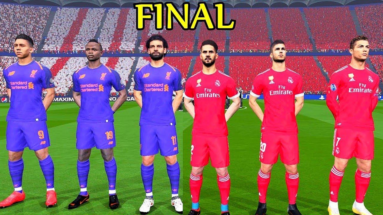 pretty nice 385fc a9d64 Real Madrid vs Liverpool (New Away Kit) Final UEFA Champions League 2018