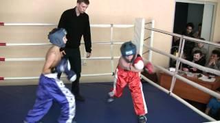Кикбоксинг в Белгороде. Бой Марка Кузьминова. 5.02.2011(Соревнования