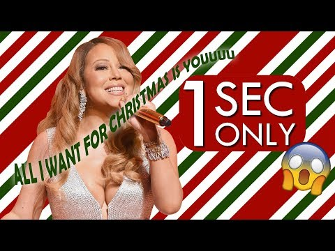 Guess The Christmas Song In 1 Sec!