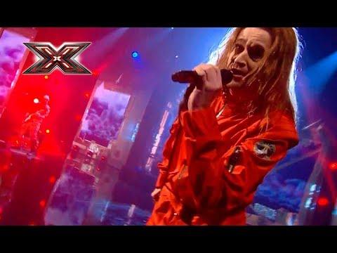 Группа Yurcash - Europe - The Final Countdown (перевод на укр.) – Х-Фактор 8. Первый прямой эфир