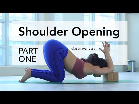 Shoulder Opening Exercises | Part 1 | Relieve tension | Deepen your backbend