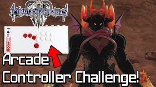 Fighting Dark Inferno on a Hitbox Arcade Controller | Kingdom Hearts 3