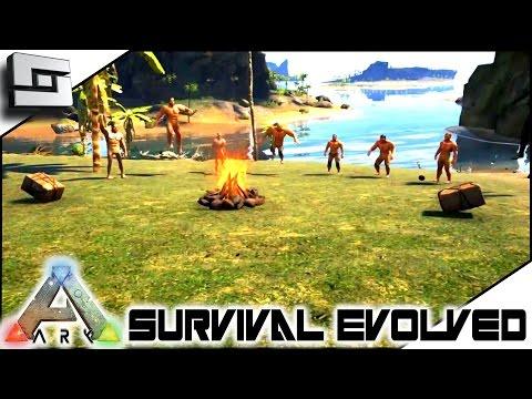 ARK: Survival Evolved - THE CENTER! SEASON 4! NEW PEEPS! S4E1 ( Gameplay )