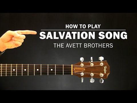 How To Play Salvation Song (Avett Brothers) | Live Guitar Lesson