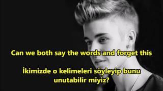 Justin bieber sorry şarkı sözleri