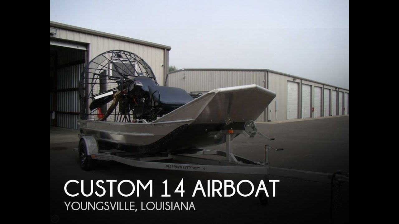 Used 2017 Custom 14 Airboat for sale in Youngsville, Louisiana