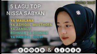 5 Hits Lagu NISSA SABYAN Mp3