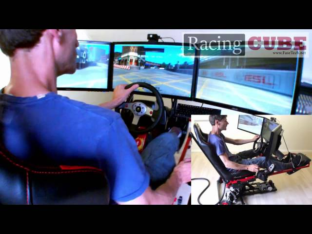 The RacingCube Is The World's First Affordable Motion Simulator